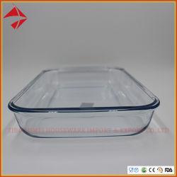 Profondeur de verre plat de cuisson cuire du pain de Pan Casserole gâteau de crème sûre des ustensiles de cuisson au four plats pour cadeau