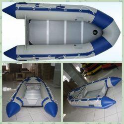 3.8m Blauwe & Witte Opblaasbare Bijboot voor Sport en vissen