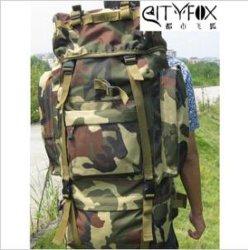 Camping en nylon ou sac à dos militaire