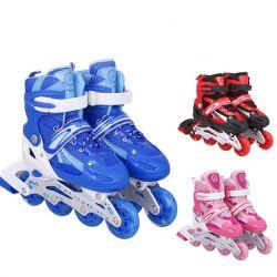 """تعزيز جودة عالية للأطفال"""" أحذية S Sports Roller Skates المخصصة تصميم شامل أكثر من أكبروأحجز بكرة تزلج"""