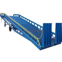 カスタマイズ可能な 6 ~ 15 トンの倉庫油圧ヘビーデューティ移動式コンテナ積込みドック フォークリフト用リフトヤードランプ