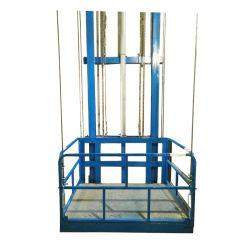 전기 수직 주거용 1층 레일 체인 카고 유압 창고 메자닌 Power-Lift 운반 엘리베이터 테이블