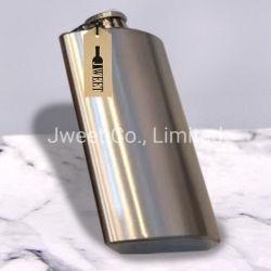 Matraccio d'anca Silver Whisky flacone in acciaio inox 750 ml