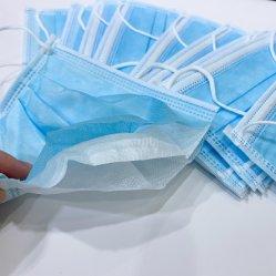 Desechables capas protectoras 3Mascarilla Mascarilla de paquete de 50 PC