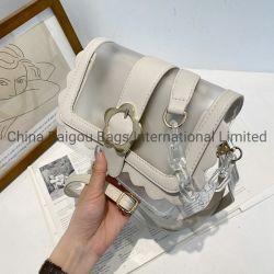 Novo Design PU Bolsa de couro Lady Bags Bolsas de Mulheres do sexo feminino Saco de ombro Flor de plástico bag