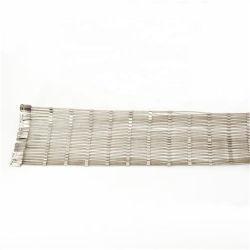 Cuerda de alambres de acero reforzado de malla de compensación de pendiente y active la protección de barrera Rockfall pendiente
