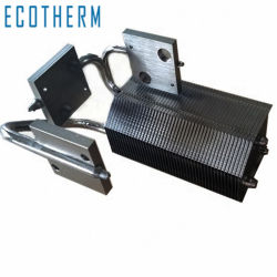 CNC 팬 냉장고 알루미늄 지퍼 핀 200W LED용 방열판 하이 베이
