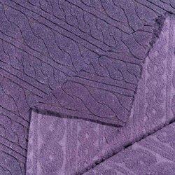 100 % polyester Twist rayé Laine Polaire Tissu tricoté ant