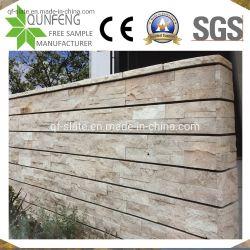 China-dekorativer Wand-beige Travertin-Kultur-Stein