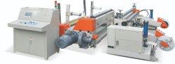 Alta Rotação automática do rolo jumbo Cortador Rebobinador Máquina para papel