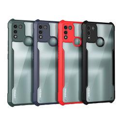 Accesorios para teléfonos blandos semi, 4 colores compatibles con Infinix Phone Case, OEM Custom Cheap Price, TPU Cell Back Cover, Mobile Phone Cover, transparente