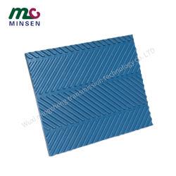 저항하는 PVC 컨베이어 벨트 목공 기계장치 착용에 - 상승하는 까만 녹색 패턴 종갱도 곡물 곡물