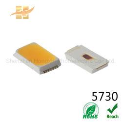 Оптовая торговля 5730 светодиод для поверхностного монтажа 3V/6V/9V/18V/36V Ra80 привели белая полоса