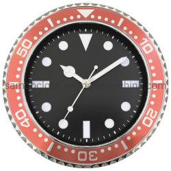 Orologio di parete promozionale su ordine di incandescenza di notte di 12 pollici