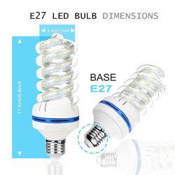 36W Спиральная форма светодиодный индикатор для кукурузы AC85-265V Светодиодные лампы