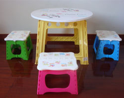 Moldes de injeção de plástico para o Banco Dobrável do bebê e bebê mesa dobrável do molde usado