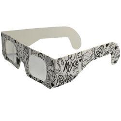 Óculos 3D personalizados com fogo de artifício polarizado óculos Eclipse Solar