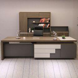 La luz de madera de estilo de lujo moderno mobiliario de oficina escritorio ejecutivo