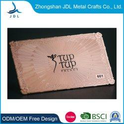 High Quality Metal Aluminium Business Namewith Customized Logo Metal تسمية بطاقة العمل