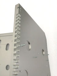Fraisage CNC Ordinateur Industriel fabricant châssis prototype de pièces d'usinage CNC en aluminium