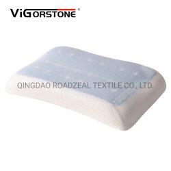 El carbón de bambú ortopédicos de alta densidad de espuma de memoria de gel de refrigeración Apoyacabezas cuello almohada