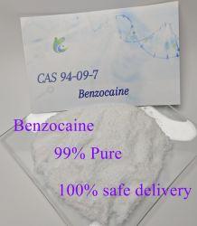 Lokale Anästhesie CAS: 94-09-7 99% Benzocain HCl Benzocain Base Chemical