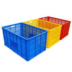 Canasta de alimentos Cesta La cesta de volumen de almacenamiento de plástico Contenedor de Almacenamiento de envases de plástico para la transferencia y almacenamiento