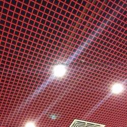 금속 천장 알루미늄 석쇠 천장판 건축재료 열려있는 세포 천장 틀린 천장