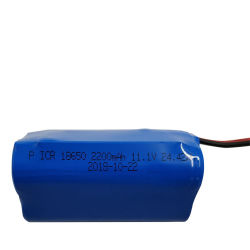 Перезаряжаемые батареи размера 18650 Li-ion аккумулятор 2200 Мач 11,1 V