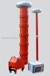 변하기 쉬운 주파수 AC 케이블 개폐기를 위한 울리는 반항 Voltaget Hipot Hv 시험 시스템, Gis, 변압기, 절연체, 공통로 270kVA/270kv