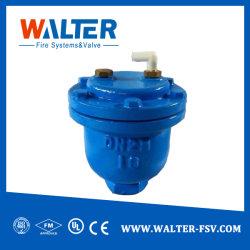 Form-flanschte duktile Eisen-Karosserien-Doppelt-Kugel-Öffnung automatisches Luft-Freigabe-Ventil-Auslassventil/Luft-Luftauslaß