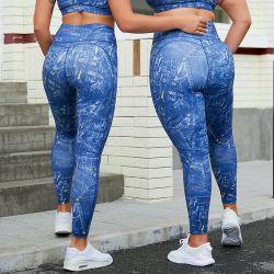 ملابس رياضية عالية التويح مضادة للسيليوليت رفيعة ارتداء ملصق خاص نساء نمل اليوغا