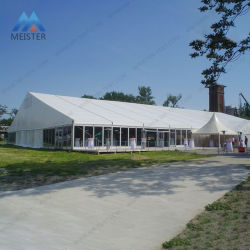 30X50m большой белой стороной с бегущей строкой свадебной выставки палатка с алюминиевой рамкой