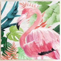 Imagen de arte de pared de flamingo