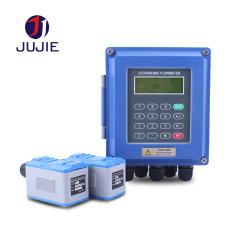 Ультразвуковой расходомер для воды чистой измерения расхода и температуры