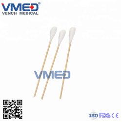 Медицинские одноразовые абсорбирующий хлопка марлей ватный тампон W/O X-ray, бамбука Memory Stick косметический макияж Bud двойной советы Ватным, медицинских одноразовых питания хлопка марлей