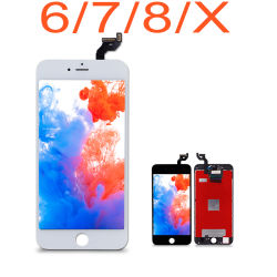 AAA+ Premium Quality Mobile Phone LCD voor iPhone4/5/6/7/8/X Displays LCD Touch Screen Assembly LCD Screen Digitizer Mobile Phone Repair Parts iPhone LCD OLED