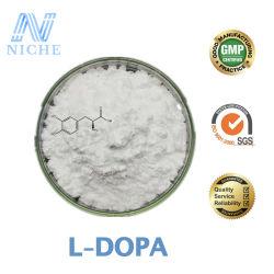 自然なLevodopaはLドーパの食品等級の工場Exworkの価格59-92-7のイギリスの在庫を補う