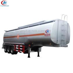 35000~45000litres d'huile du réservoir de carburant grande capacité de la remorque remorque-citerne pour la vente