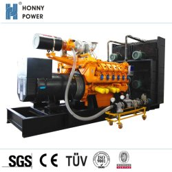 450kw/562.5kVA célèbre Charbon Gaz naturel Gaz// Bio générateur de gaz (HGGM563)