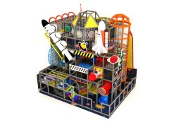 Thème de l'espace Conception libre Pour Les Enfants Les enfants de terrain de jeux intérieur pour la vente Actualités Amusement Terrain de jeu intérieur doux