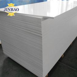 Blanco Negro resistente al agua Jinbao Forex Foamex ampliado Celuka extruido la chapa de la junta de espuma de PVC rígido