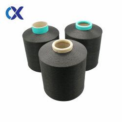 100% من البوليستر السحب النعومة Yarn 450d/144f DTY أسود