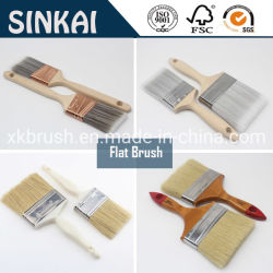 China-hochwertiger flacher Künstler-Borste-Lack-Pinsel