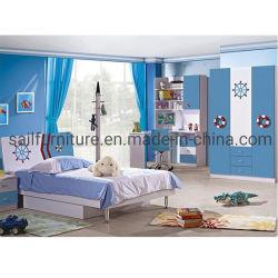 Современная деревянная мебель для детей Дети спальни Набор мебели