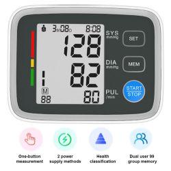 80 eh Arm Blood Pressure Monitor Talking Blood Pressure Monitor, BP omensing Manual Home BP Monitor Professional Blood Pressure Monitor
