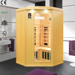 Sauna asciutta indipendente di Infrared lontano fatta del legno solido del Canada con il riscaldatore unito