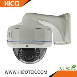 IP67 Outdoor Caméra dôme analogique coaxial hybride avec support de plafond à montage latéral