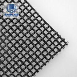 Revestimento a pó preto em aço inoxidável 316 malhas de tela da janela de segurança