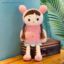Il giocattolo farcito bambino su ordinazione delle ragazze della frutta del fumetto diverte la bambola della ragazza del panno della peluche